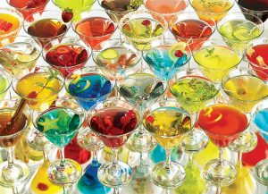 Puzzle Cobble Hill Colección de Martinis de 1000 Piezas
