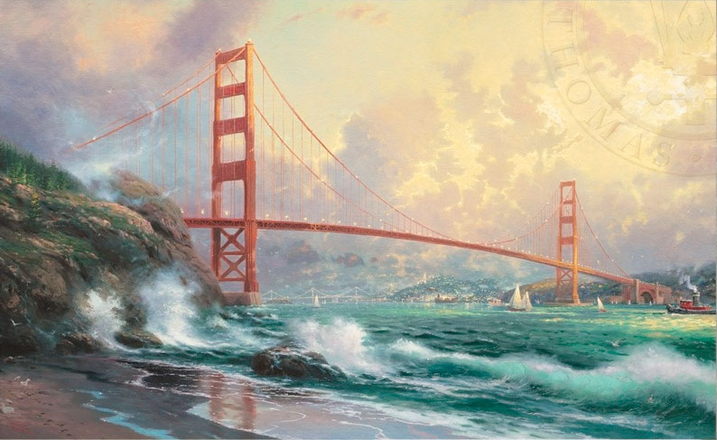 Puzzle Schmidt Golden Gate Bridge, San Francisco de 1000 Piezas