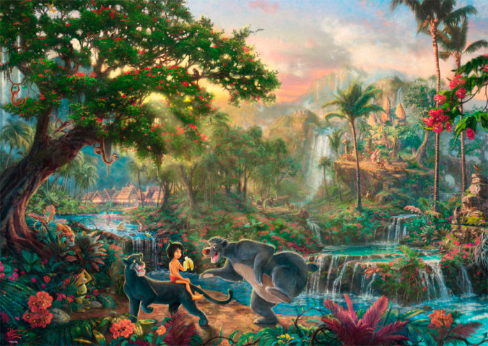 Puzzle Schmidt El Libro de la Selva de 1000 Piezas