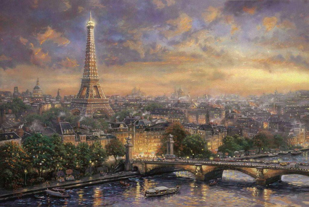 Puzzle Schmidt París de 1000 Piezas