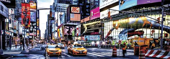 Puzzle Anatolian Times Square, Panorámico de 1000 Piezas