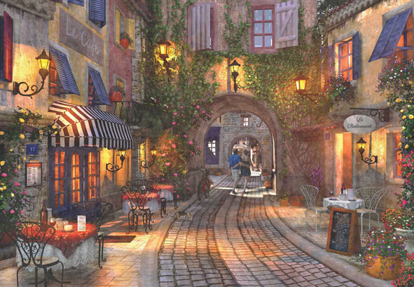 Puzzle Anatolian Calzada en Francia de 500 Piezas