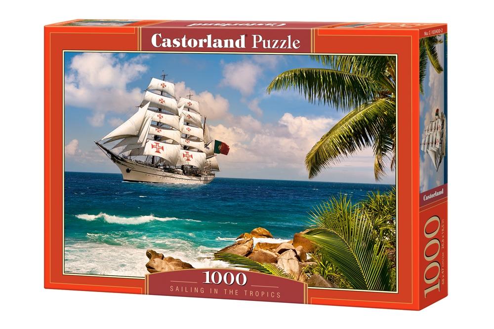 Puzzle Castorland Navegando en el Trópico de 1000 Piezas