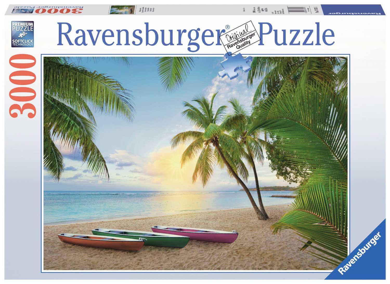 Puzzle Ravensburger Paraíso Tropical de 3000