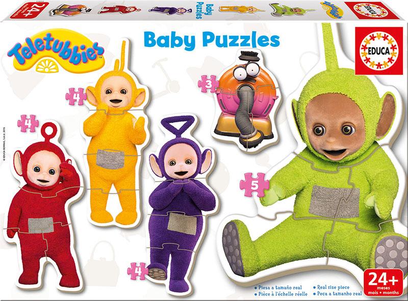 Baby Puzzle Educa Progresivo Teletubies