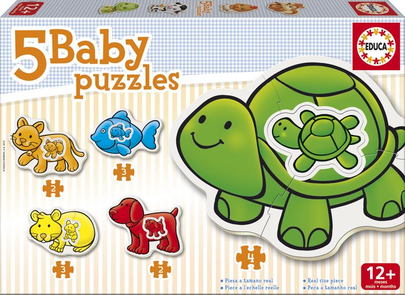 Baby Puzzle Progresivo Animales