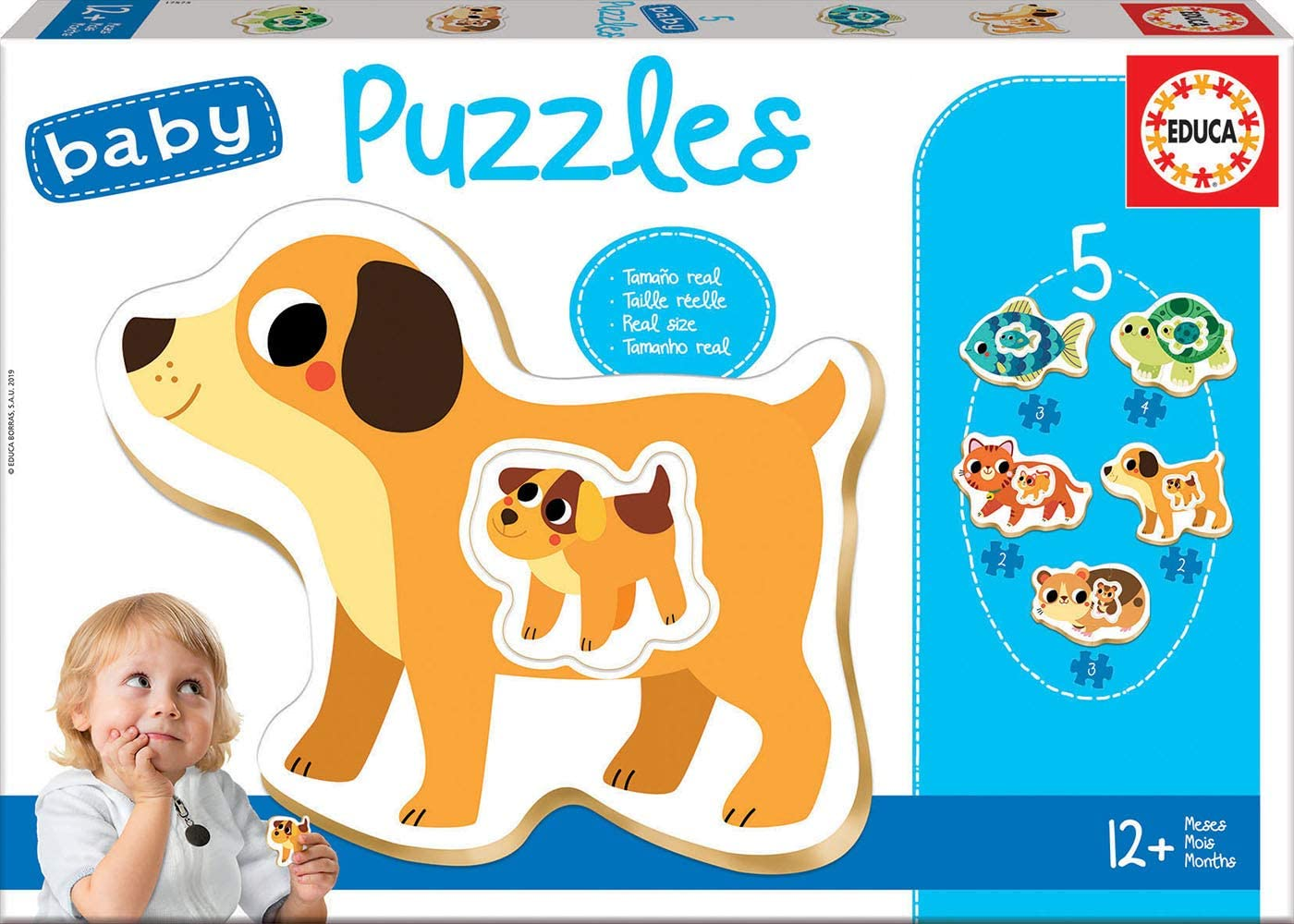 Baby Puzzle Progresivo Animalitos