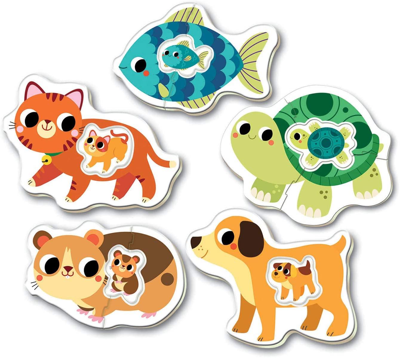 Baby Puzzle Progresivo Animalitos