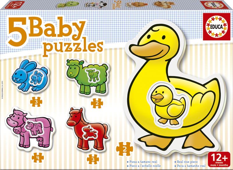 Baby Puzzle Progresivo La Granja