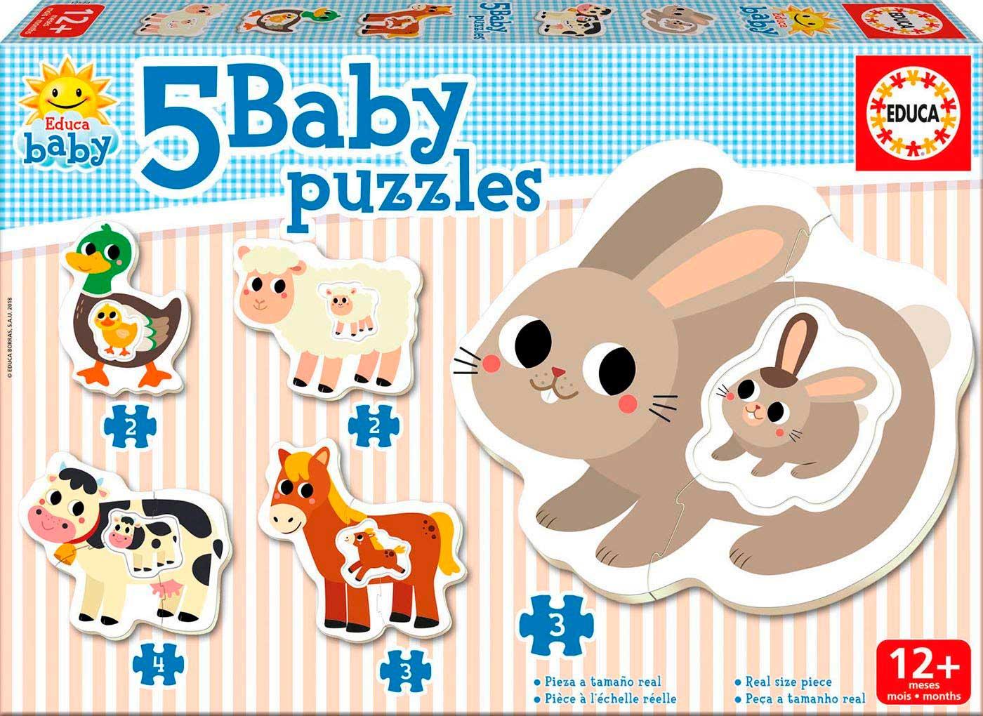 Baby Puzzle Progresivo La Granja II