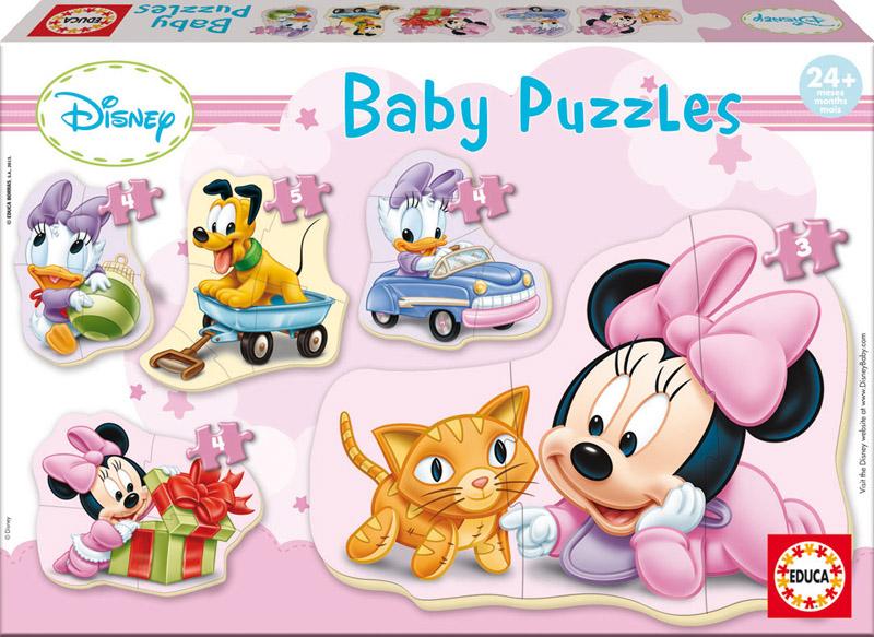 Baby Puzzle Progresivo Minie Mouse