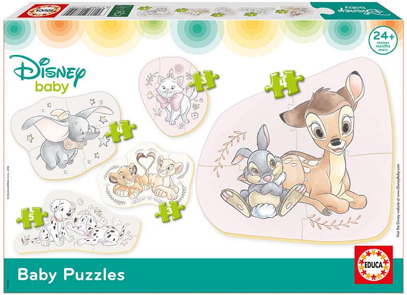 Baby Puzzles Animales de Disney