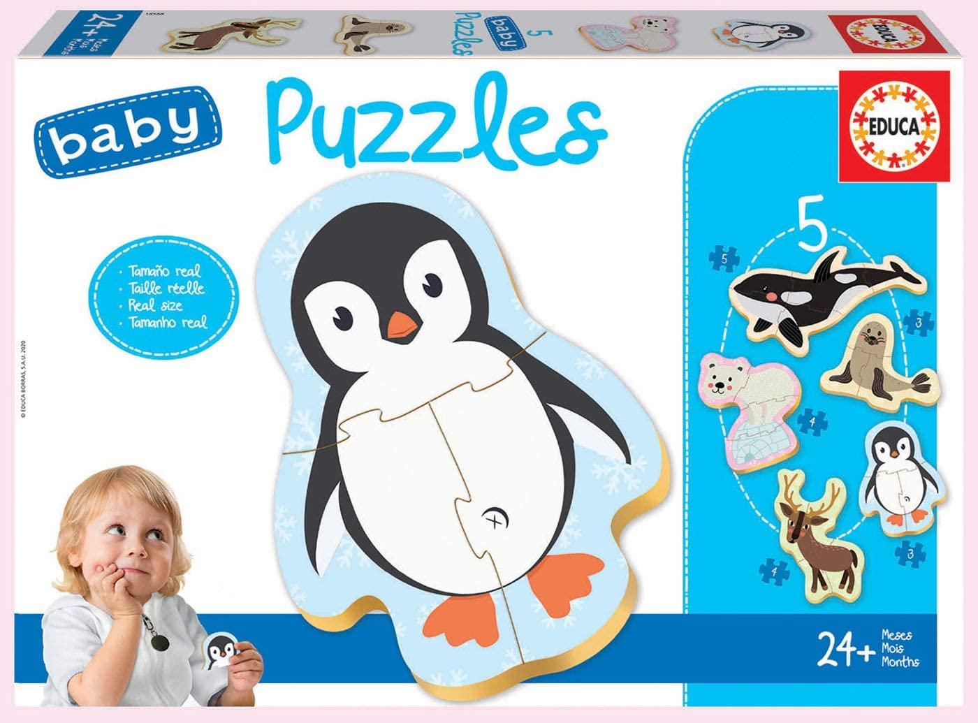 Baby Puzzles Animales Polares