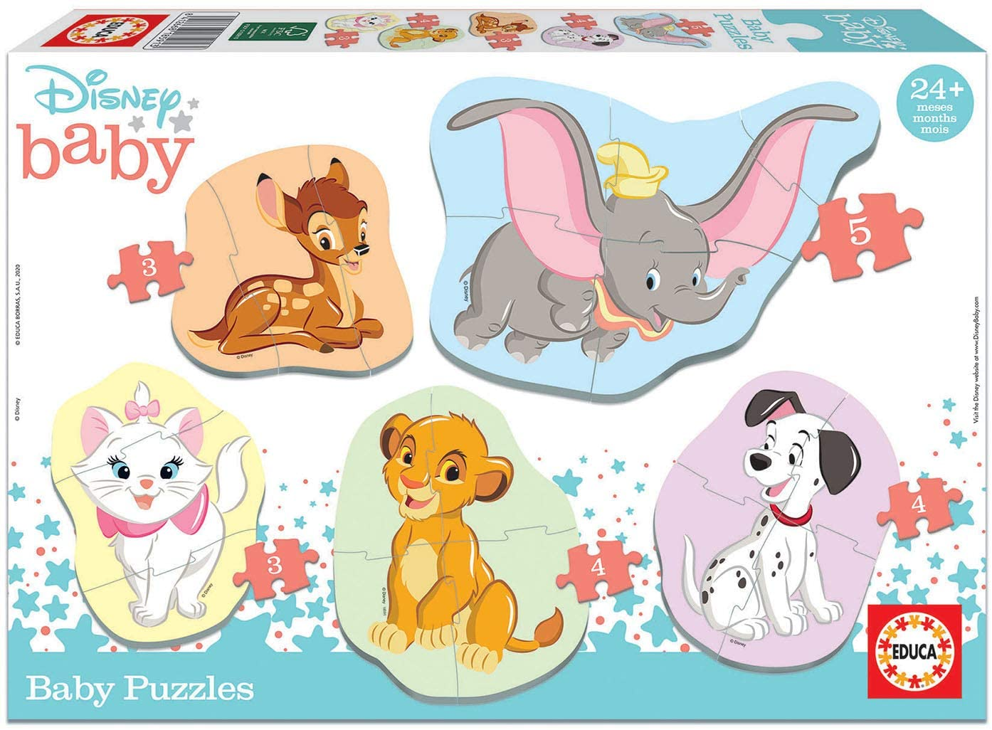Baby Puzzles Disney Animals 2