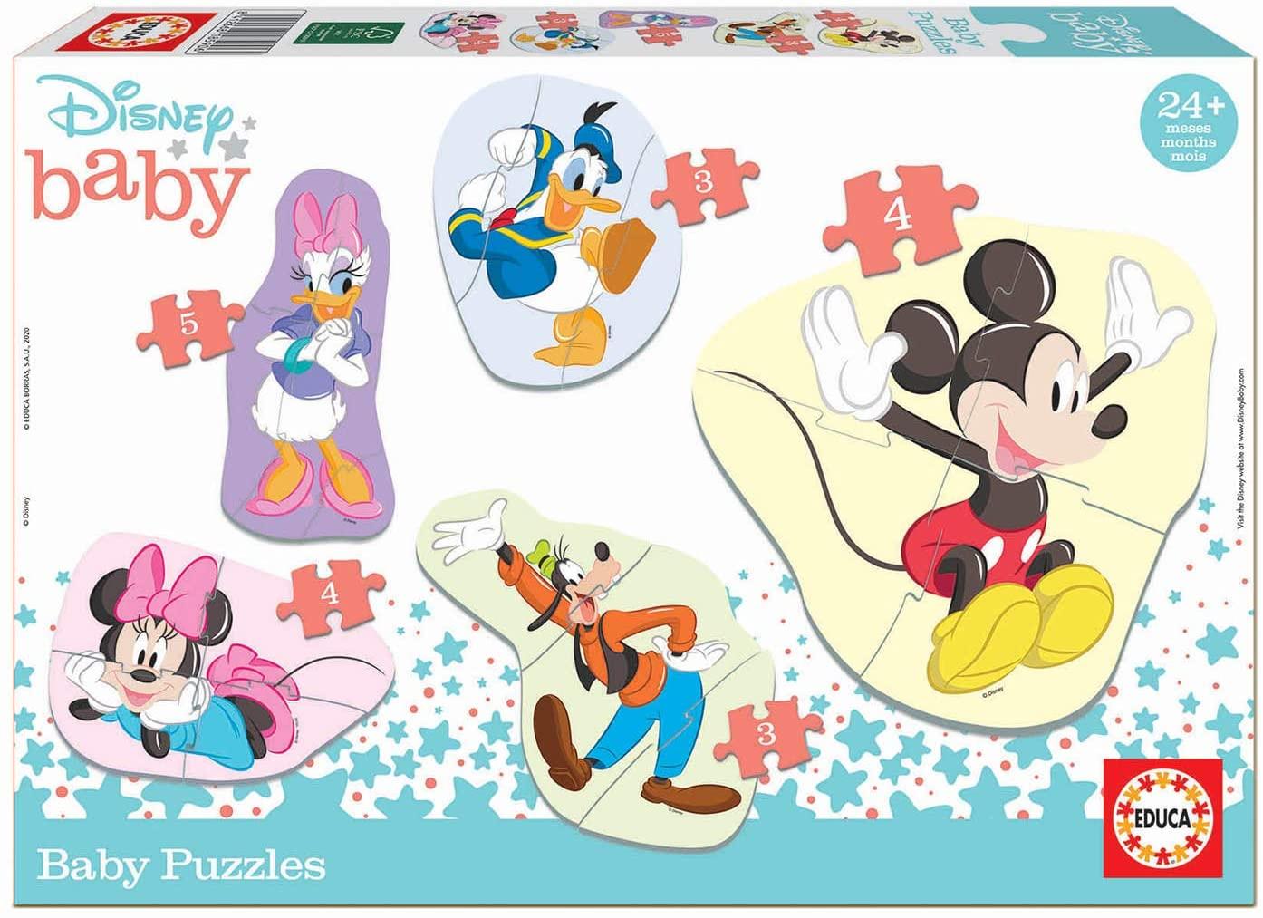 Baby Puzzles Mickey y Amigos