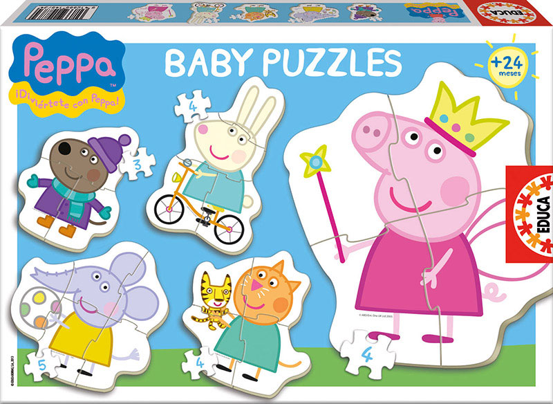 Baby Puzzles Peppa Pig