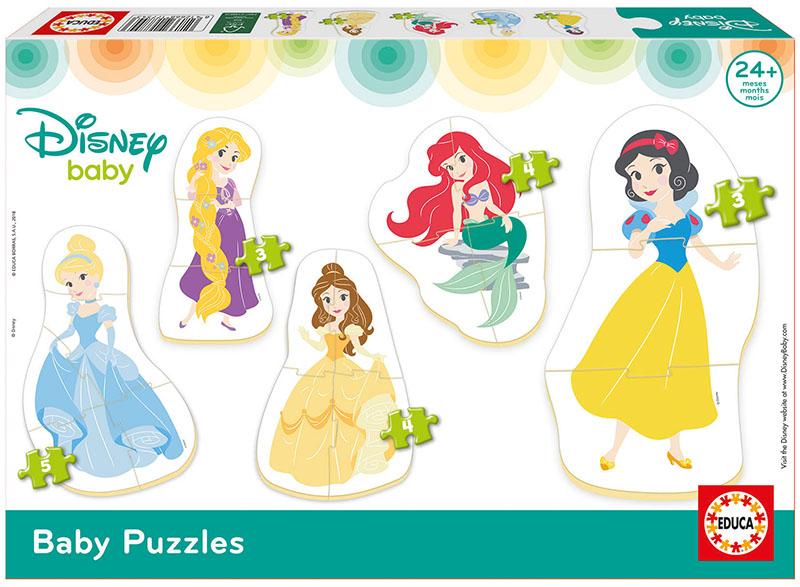 Baby Puzzles Princesas Disney