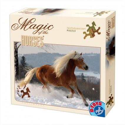 Puzzle D-Toys Caballo III de 239 Piezas Corte Especial