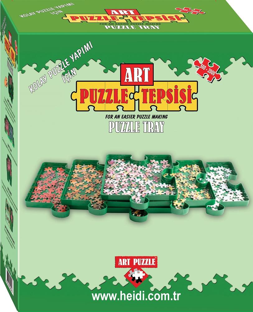 Accesorios para puzzles, Separador de Piezas Art Puzzle, 6 Bandejas