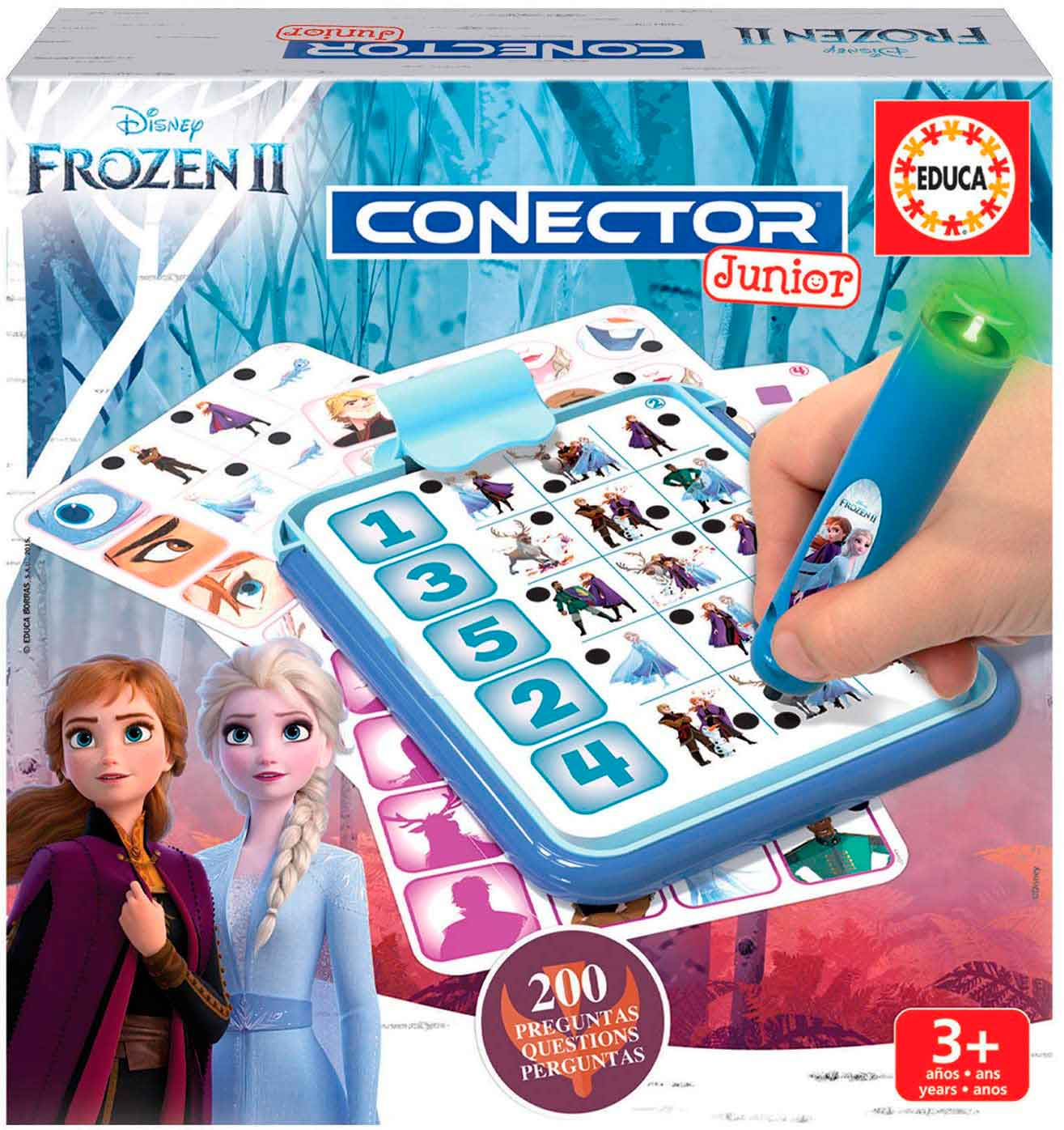 Conector Junior Educa Frozen 2