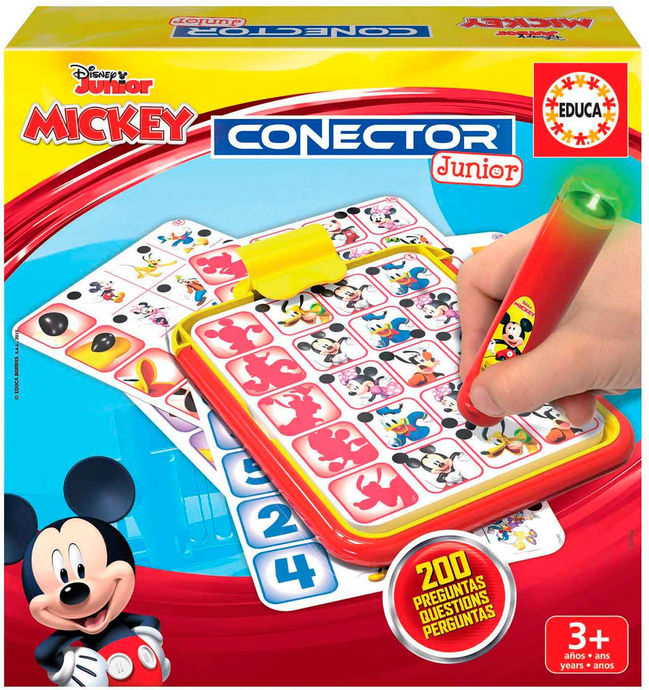 Conector Junior Educa Mickey
