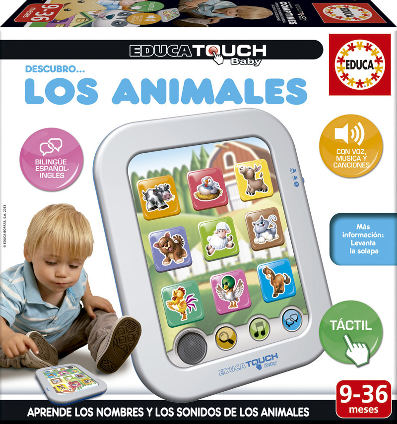 Educa Touch Baby Descubro los Animales