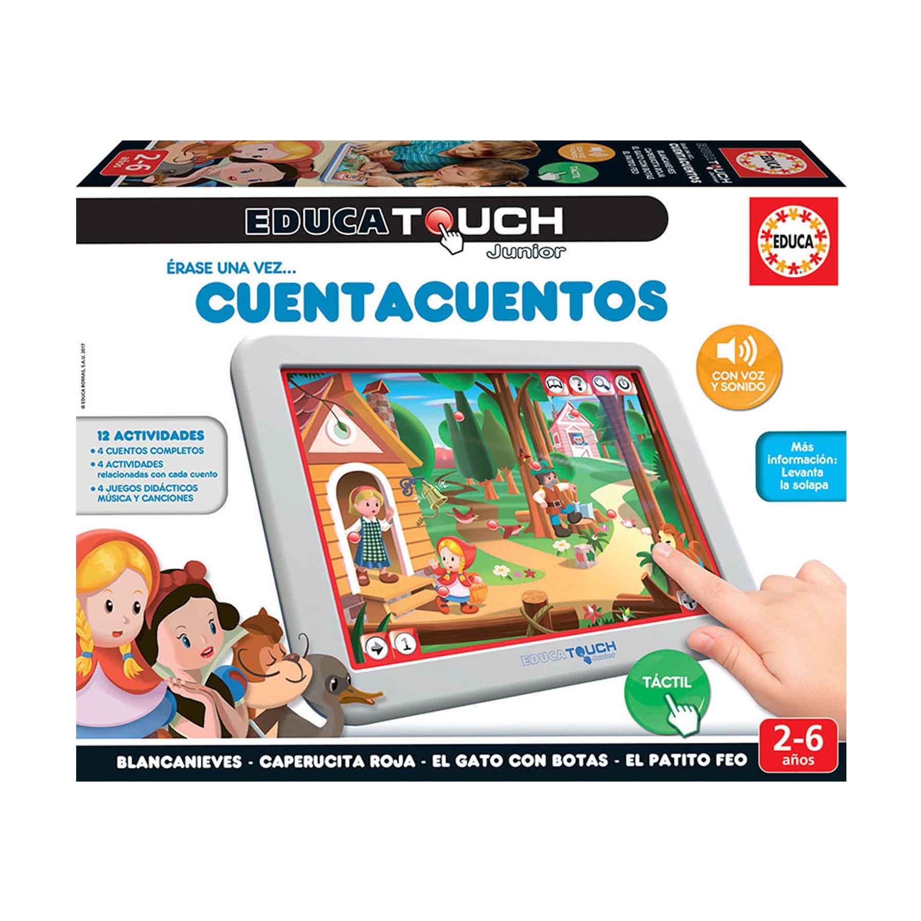 Educa Touch Junior Erase una vez Cuenta Cuentos