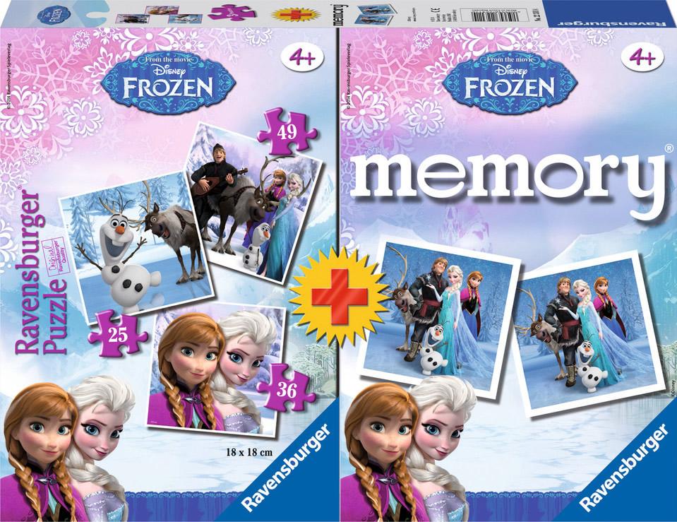 Frozen  25+36+49 + Memory
