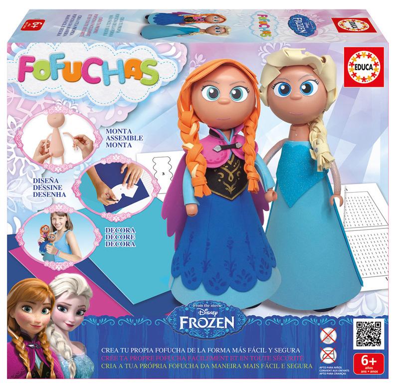 Juego Creativo Fofuchas Frozen Set de 2