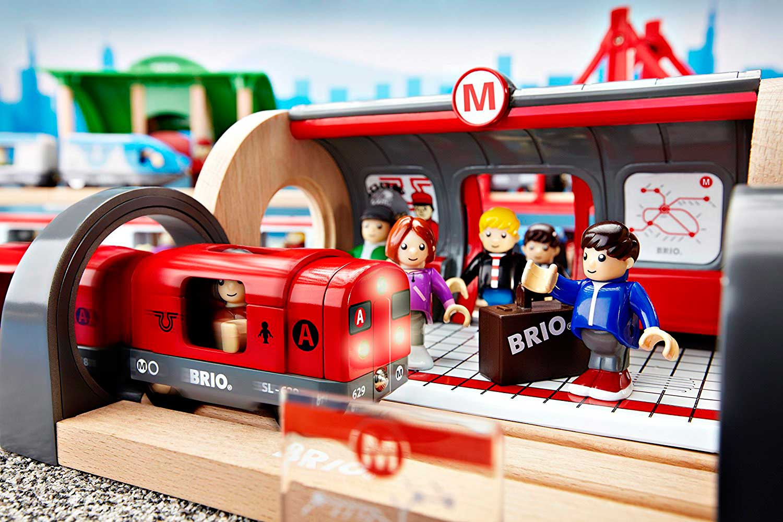 Juego de Construcción Brio Circuito de Metro