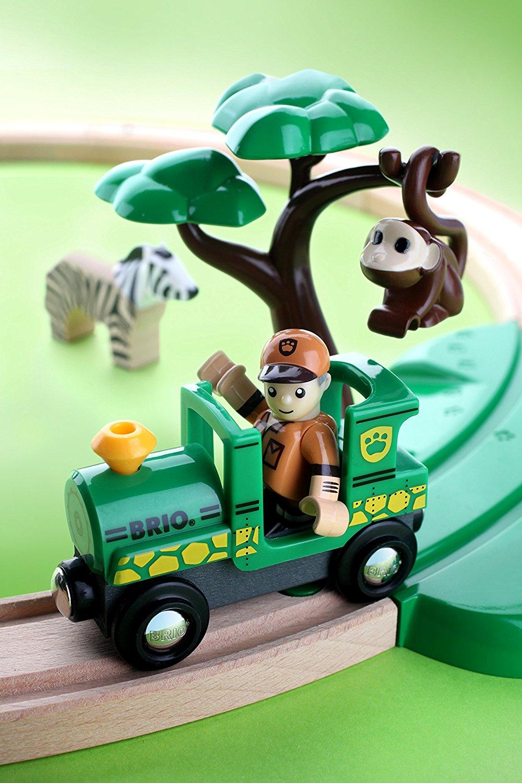 Juego de Construcción Brio Set Inico con Tren Safari
