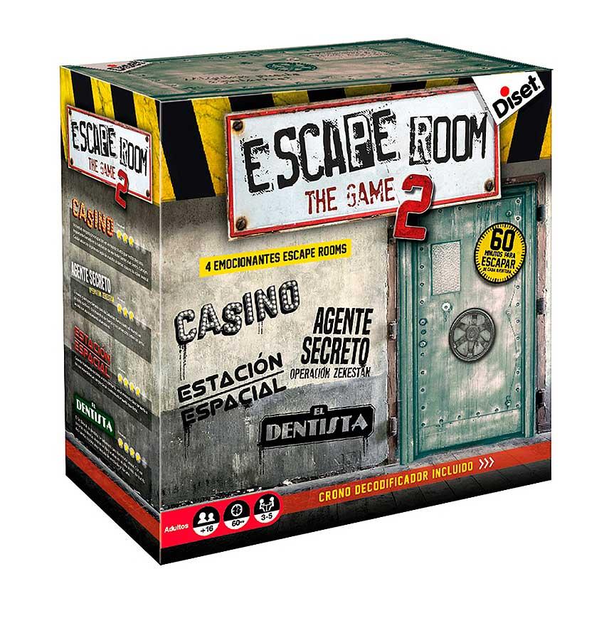 Juego de Mesa Diset Escape Room The Game 2