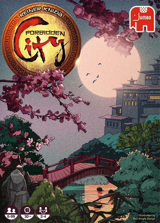 Juego de Mesa Jumbo Forbidden City, Ciudad Prohibida.