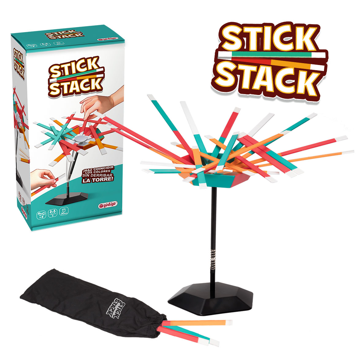 Juego de Mesa Lúdilo Stick Stack