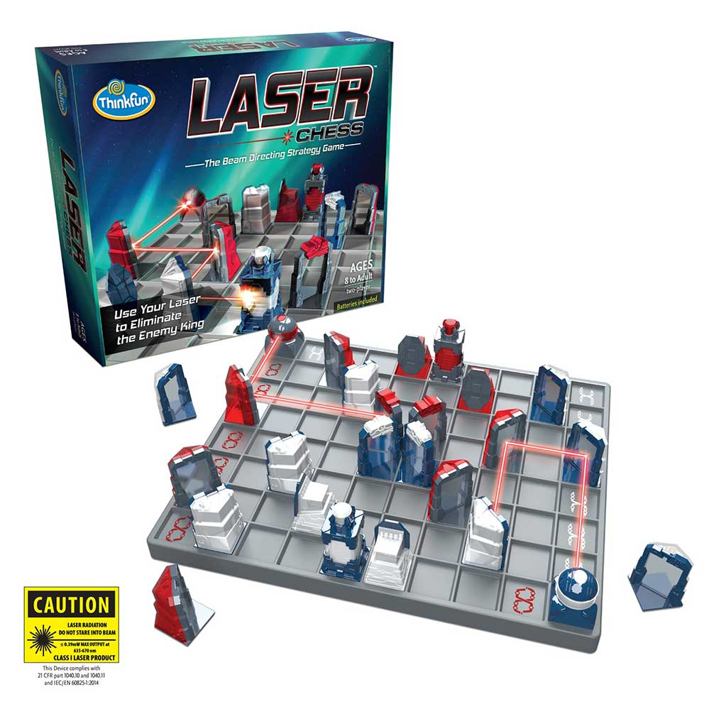 Juego Educativo Think Fun Laser Chess