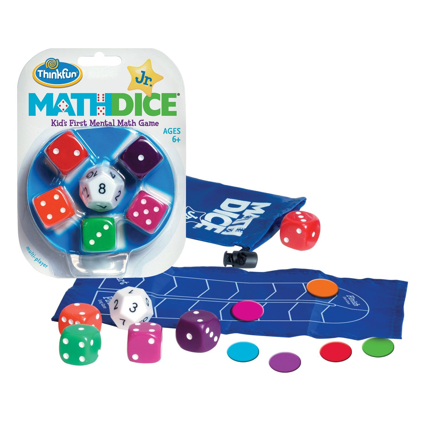 Juego Educativo Think Fun Math Dice Junior