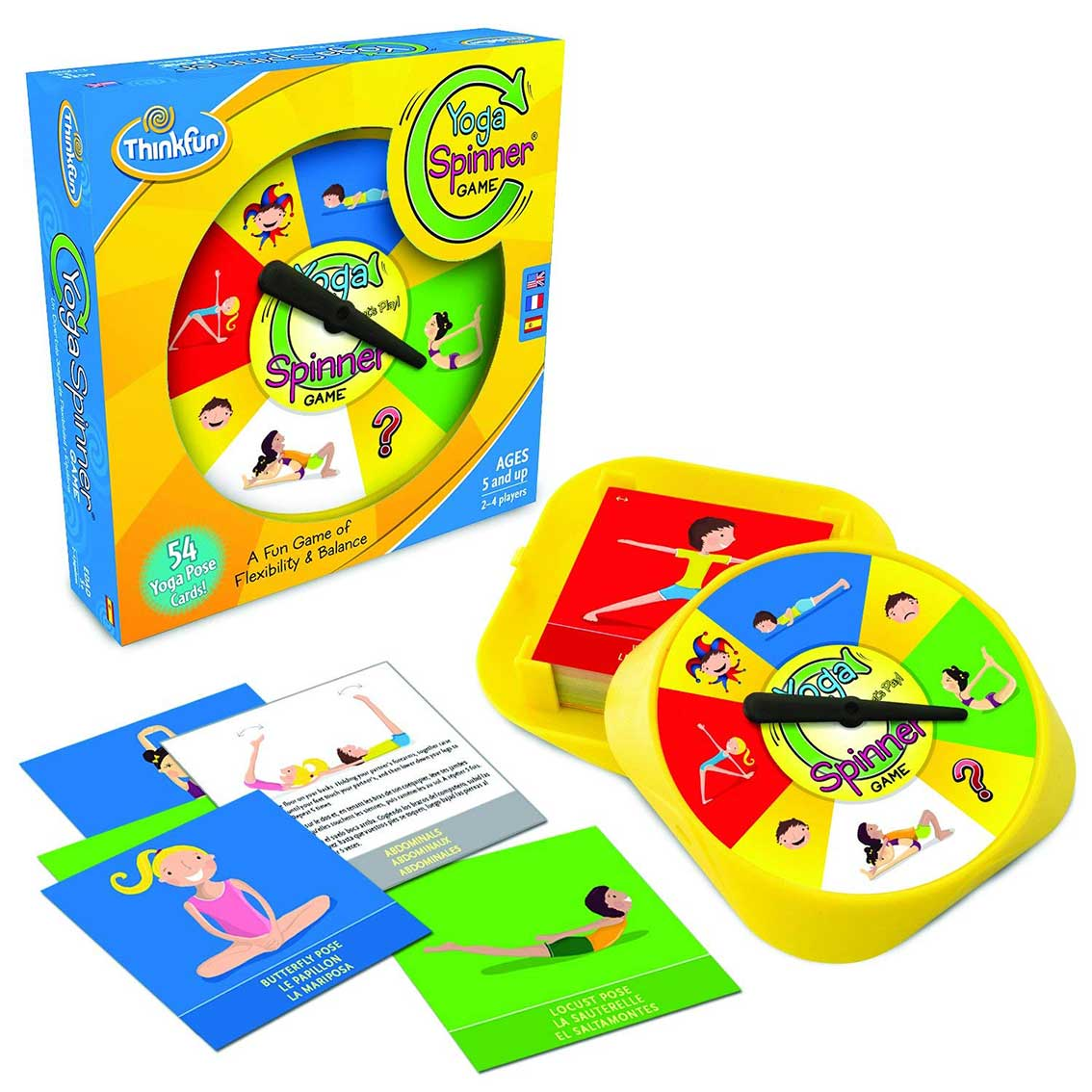 Juego Educativo Think Fun Yoga Spinner