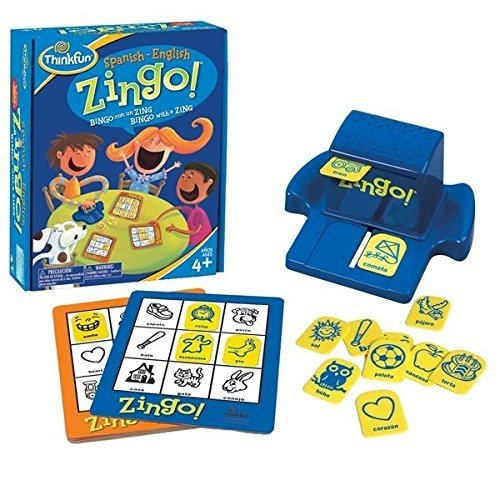 Juego Educativo Think Fun Zingo Spanish-English