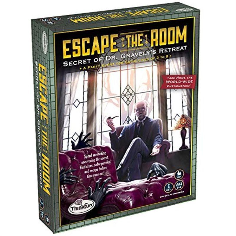 Juego Escape Room Think Fun El Secreto del Dr. Gravely