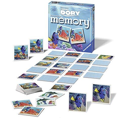 Memory Ravensburger Buscando a Dory de 72 Piezas