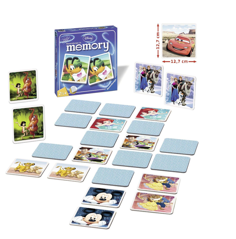 Memory Ravensburger XL Personajes Disney de 24 Piezas