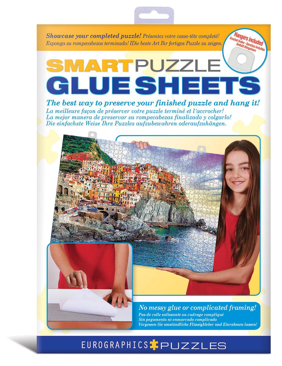Pegamento Puzzles Eurographics de Hojas Adhesivas