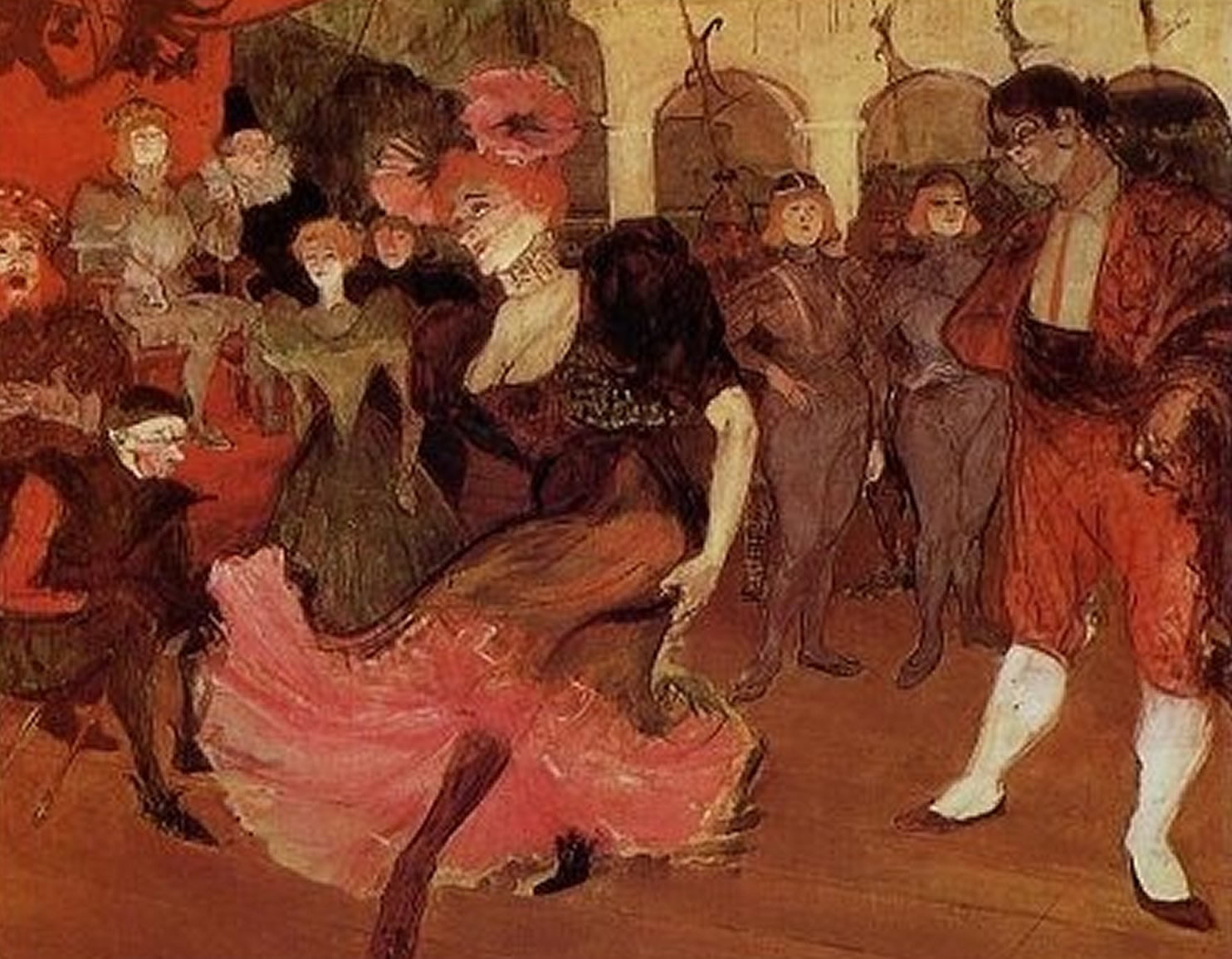 Prestamista de Marcelle bailando bolero en Chilperico
