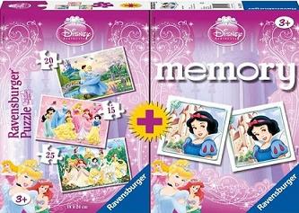 Princesas Disney 15+20+25 + Memory