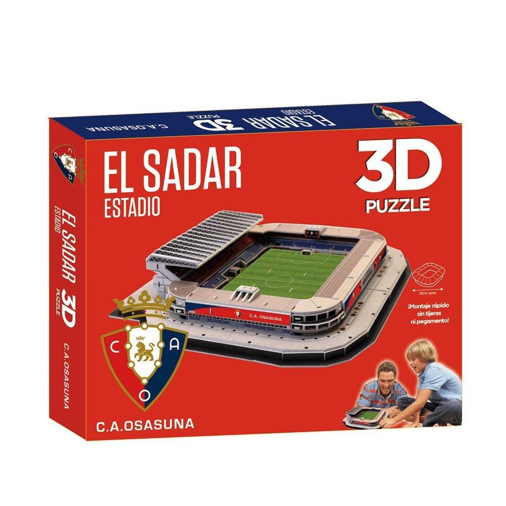 Puzzle 3D Estadio El Sadar C.A Osasuna