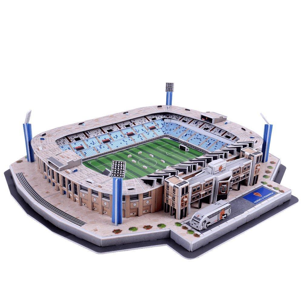 Puzzle 3D Estadio La Romareda Real Zaragoza