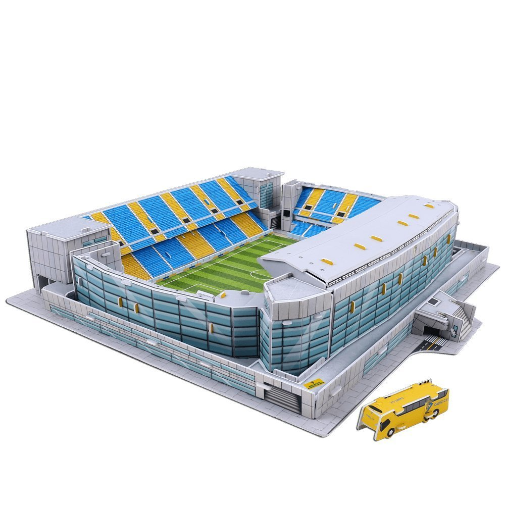 Puzzle 3D Estadio Ramon de Carranza Cadiz CF