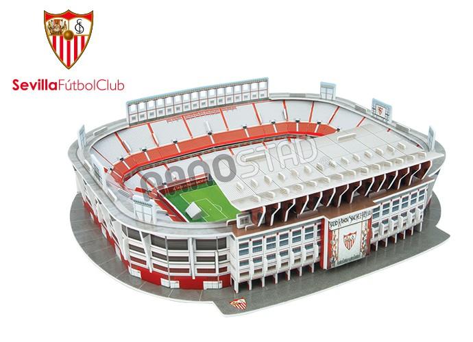 Puzzle 3D Nanostad Estadio Ramón Sánchez Pizjuán Sevilla FC