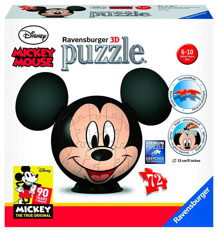 Puzzle 3D Ravensburger Mickey Mouse de 72 Pzs