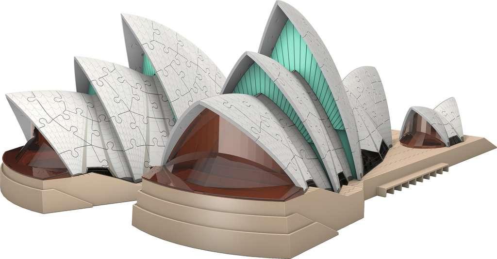 Puzzle 3D Ravensburger Opera House de Sidney de 237 Pzs